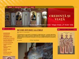 """Credinţă şi Viaţă- Revista religios-culturală a Liceului Ortodox """"Sf. Nicolae"""" Zalău"""