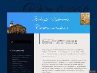 Educație Creștin-Ortodoxă Sibiu